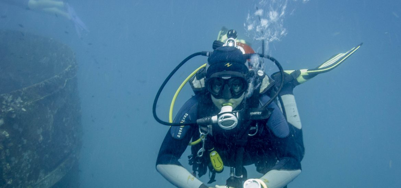 carlotta arona scuba diving