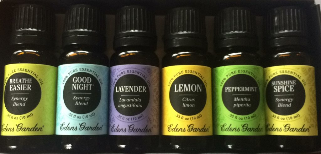 Essential Oils. Edens garden