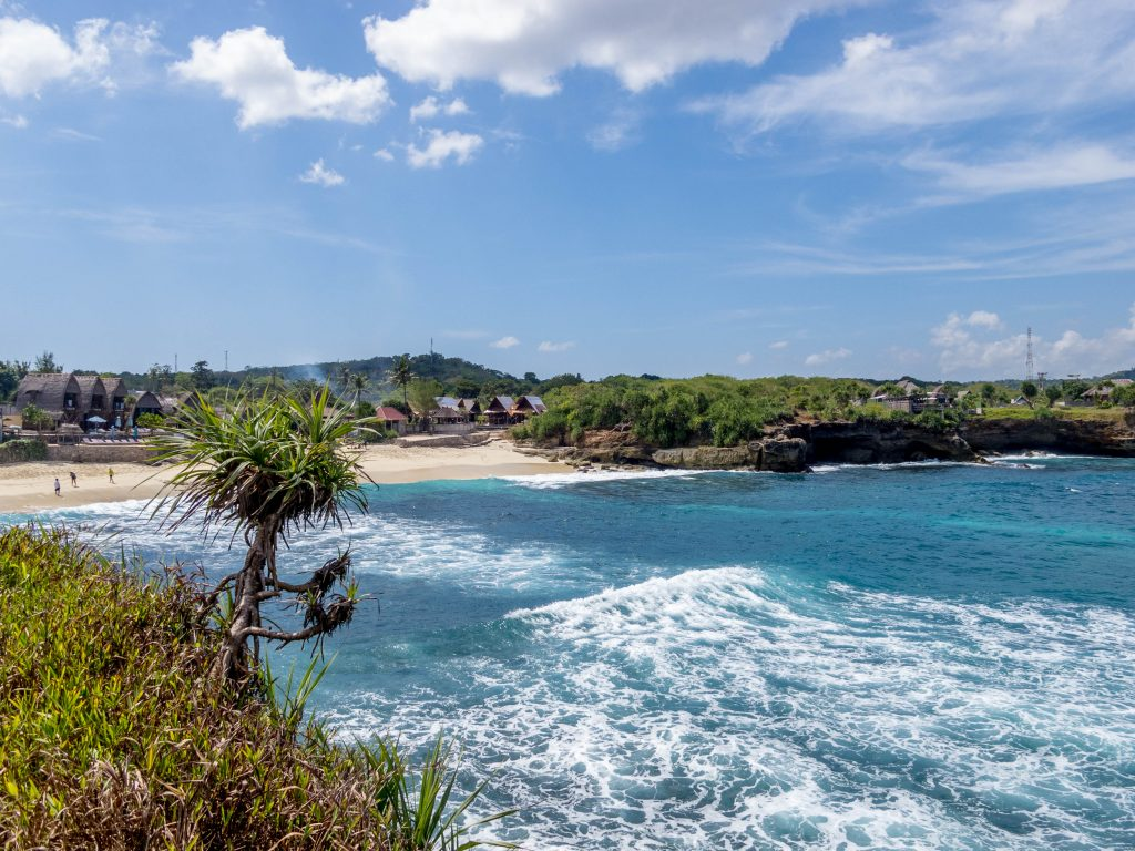 Dream Beach, Accommodation in Nusa Lembongan